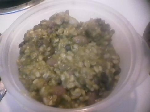 Home Made Vegan/Bean/Rice Soup 288.6