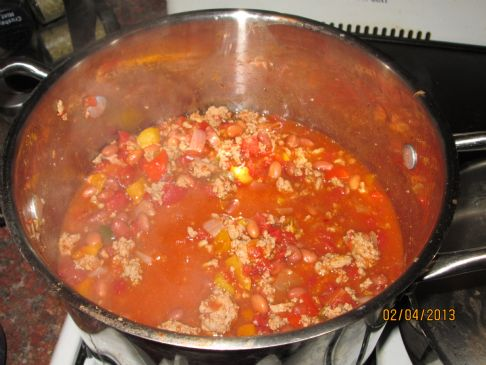 Healthy Low-Fat Turkey Chili
