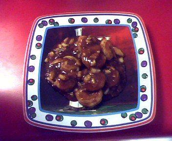 Sweet Onion and Shrimp BBQ