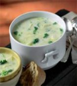 Broccoli Potato Soup with Tarragon Mint & Dill 1.5 cups
