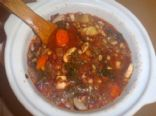 Sprouted Bean Vegetable Soup