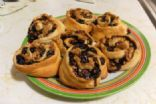 Blueberry Crescent Rolls