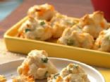 Cheddar and Green Onion Biscuit Poppers **Low Fat