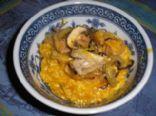 Squash Mushroom Risotto