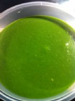 Cold Spinach Apple Soup (raw)