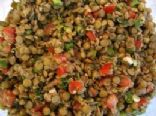 Azifa (Ethiopian Green Lentil Salad)