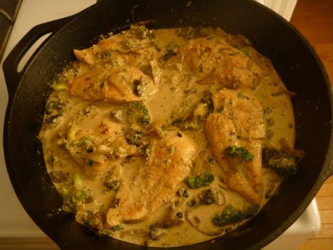 Creamy Boozy (Healthy!) Chicken