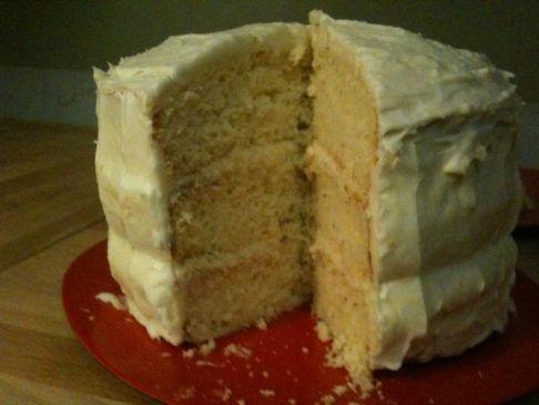 Lemon Rosemary Cake with Lemon Cream Cheese Frosting Recipe ...