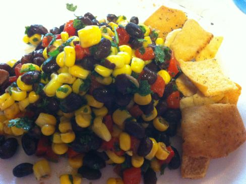 Black Bean, Corn and Roasted Red Pepper