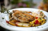 Mustard Panko Encrusted Pork Tenderloin