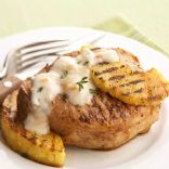 Grilled Pork & Pineapple