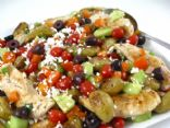 A Colorful Greek Salsa Topped Chicken That�s Bursting with Flavor