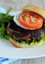 Turkey Black Bean Burgers
