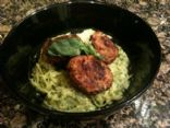 Spaghetti Squash with Avocado Pesto-from The Biggest Loser Simple Swaps
