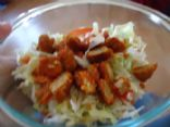 Meatless Buffalo Wing Chopped Salad