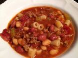 Pasta Fagioli in the Crockpot~ just like Olive Garden