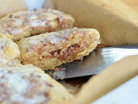 Giant Gooey Cinnamon Breakfast Biscuits