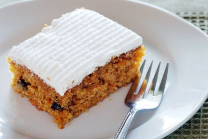 Applesauce Carrot Cake RECIPE