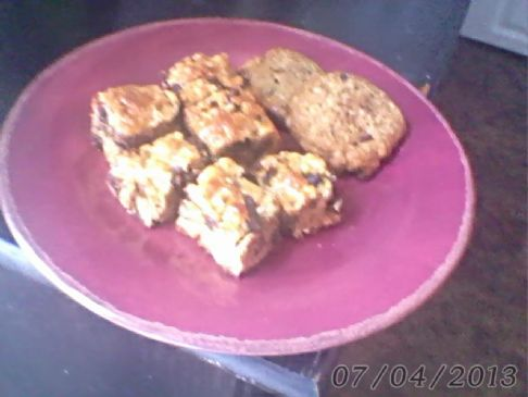 Pure Protein chocolate/walnut cookie bars