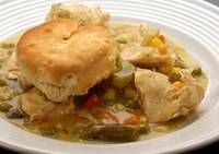 Slow Cooker Chicken with Biscuits