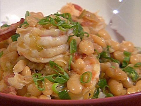 Louisiana White Beans with Shrimp