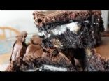 Oreo Cookie Brownies