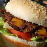 Smokey Black Bean and Ranch Burger