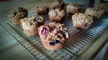 Wheat Bran Muffins, Lowfat and Low Sugar