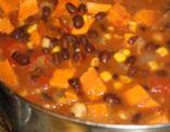 Sweet Potato and bean chili
