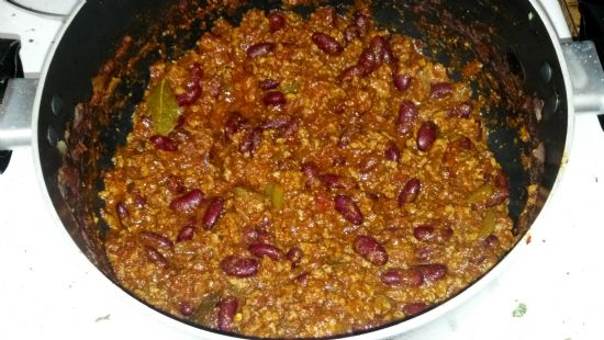 Dad's Chunky Beef Chili
