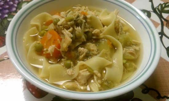 Low Calorie Chicken Soup