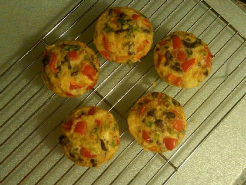 Paleo Omelette Muffins Recipe | SparkRecipes
