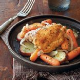 Slow Cooker Chicken & Veggies