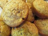 No Added Sugar Applesauce Oatmeal Muffins