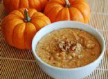 Warm pumpkin-Pie Cream of Wheat