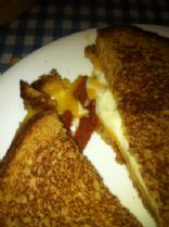 Bacon Grilled Cheese (VEGETARIAN)