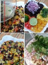 Black Bean and Corn Salad with Cilantro Lime Vinaigrette