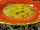 Creole Navy Bean and Spinach Soup
