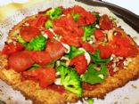 Cauliflower Crust Paleo Pizza