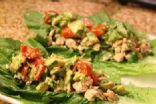 Chicken Wraps with Avocado Salsa