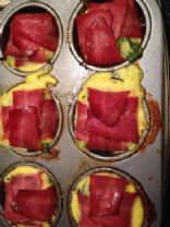 Dana's Scrumptious Healthy Spinach Apple Turkey Quiche Cups