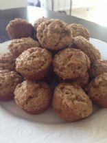 Light mini bran muffins