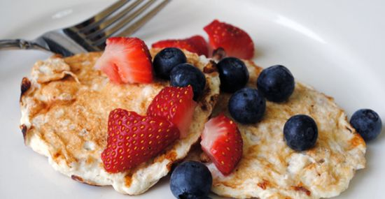 Easy-Peezy Natural Pancakes