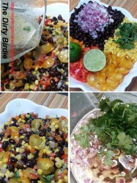 Black Bean and Corn Salad with Cilantro Lime Vinaigrette