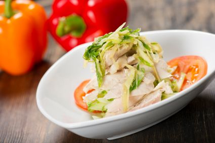 Kitchen Basics: Poached Chicken