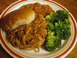 Pulled Chicken with Cranberry Barbeque Sauce