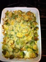 Brussels Sprout Casserole