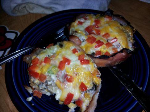Baked Egg & Turkey/Ham Cups