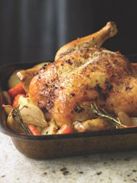 Herb Roasted Chicken with Root vegetables