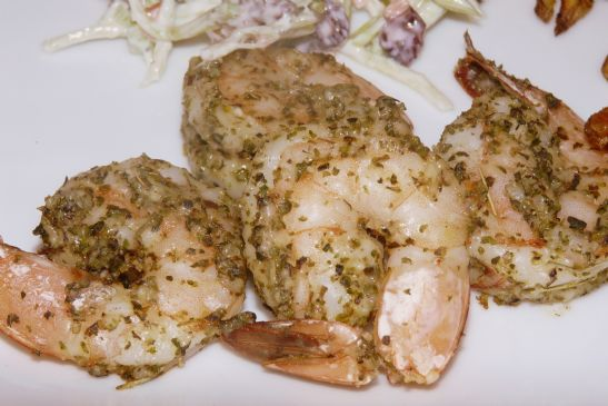 Parmesan Herb Crusted Shrimp